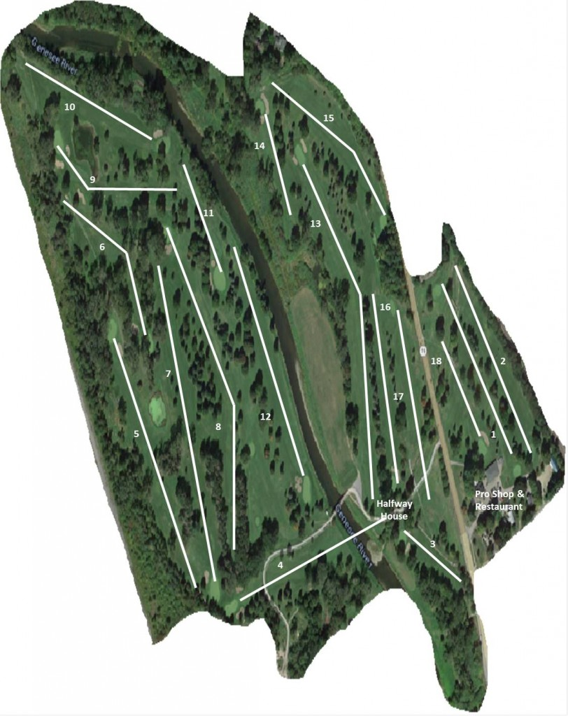 Wellsville County Club Course Map